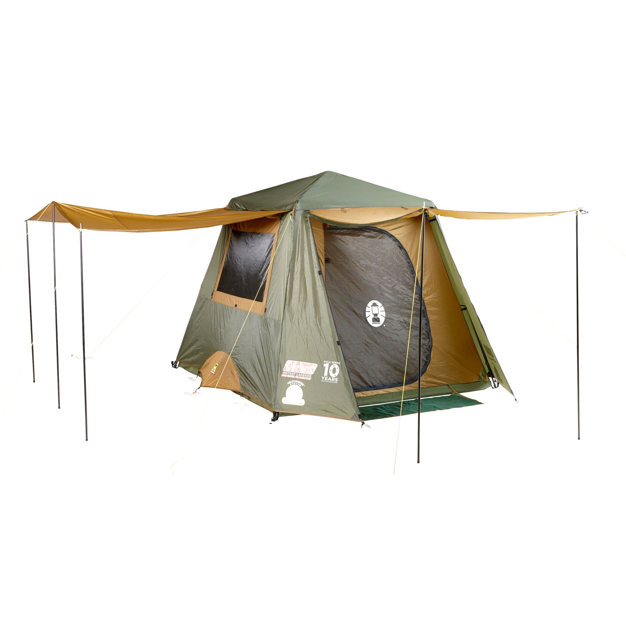 new product e5b5d b4853 Coleman 6 Person Instant Up Gold Tent (RRP $599)