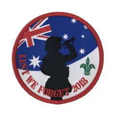 2018 Lest We Forget Swap Badge