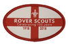 Rover 100 Year Badge