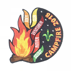 2018 Campfire Blanket Badge (RRP $2.50)