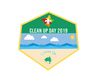 2019 Clean Up Australia Day Badge