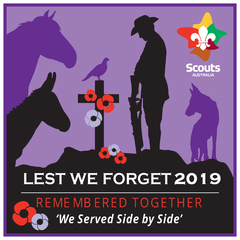 2019 Lest We Forget Swap Badge
