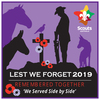 2019 Lest We Forget Swap Badge (RRP $2.50)