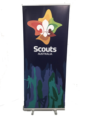 New Logo PULL UP BANNER (inside use) 2000mm x 850mm