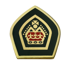 Queen's Scout Award Mounting Badge