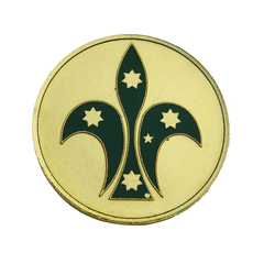 Australian Scout Mounting Badge PACK 2 (RRP $19.95each)