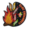 2019 Campfire Blanket Badge