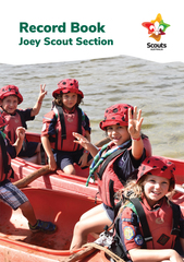 JOEY SCOUT - New Program Record Book