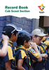 CUB SCOUT - New Program Record Book