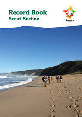 OUT OF STOCK - New Program SCOUT - Record Book - Due back into stock 18th November