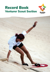 New Program Venturer Scout Record Book