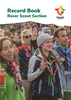 New Program Rover Scout Record Book