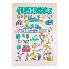 Gilwell Park Scouting Tea Towel