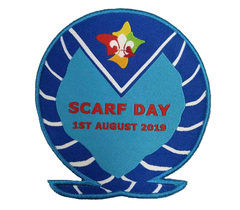 2019 Scarf Day Blanket Badge