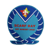 2019 Scarf Day Blanket Badge PK10
