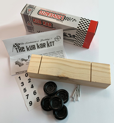 Wooden Kub Kar Kit - Box of 10 Kars