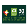 30 Year Landcare Swap Badge