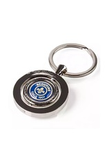 Scout Heritage Cameo Spinner Metal Keyring