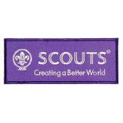 World Scout Embroidered Brand Badge