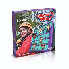 Scouts UK Guess Who Board Game