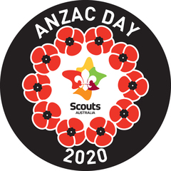 2020 Anzac Day Scout Swap Badge