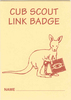 Joey - Cub Link Badge Card