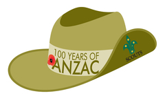 2015 Anzac Day Scout Badge