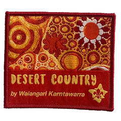 Walangari Aboriginal Desert Country Swap Badge
