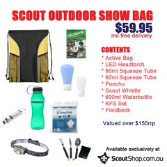 Scout OUTDOOR Show Bag Valued @ $125