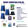 Joey, Cub or Scout Show Bag Valued @ $90