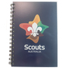 Scout A5 Spiral Bound Note Book with Logo