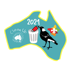 Clean Up Australia Day 2021 - PRE ORDER -DELIVERY END APRIL 2021