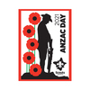 2021 Anzac Day Scout Swap Badge - PRE ORDER MID JUNE DELIVERY
