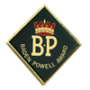 Baden Powell Award Mounting Badge