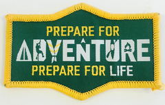 Prepare for Adventure Prepare for Life Swap Badge
