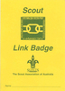 Cub - Scout Link Badge Card - OUT OF STOCK