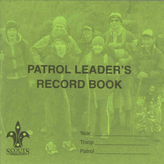 Patrol Leader Record Book - DOWNLOAD ONLY