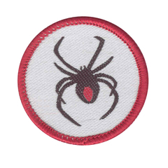 Patrol Emblem: Red Back Spider