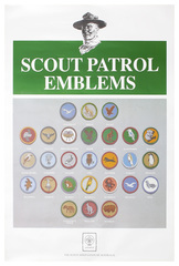 Scout Animal Patrol Badge Poster