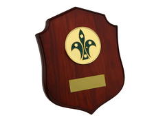 Australian Scout Plaque w/Stand