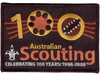 100 Years of Scouting (Black)