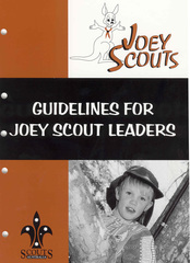 Guidelines For Joey Scout Leaders - DOWNLOAD ONLY