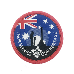 2019 Their Service Our Heritage Badge