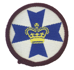 Queensland Scarf Badge