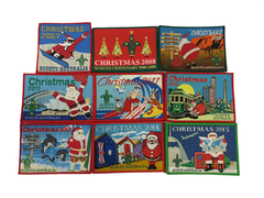 Christmas Badges: Premium Collectors Set ('07-'15) rrp $22.00