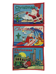 Christmas Badges: Introductory Collectors Set ('10-'12)