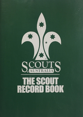 Scout Record Book (Old Program)