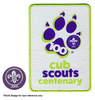 World Cub Scouts Centenary Woven Blanket Badge