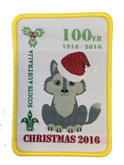2016 Xmas 100yr Cub swap badge