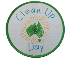 Clean Up Australia Day Badge 2016